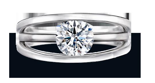 Evolym Diamond Engagement Ring