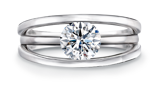 Evolym Diamond Engagement Ring