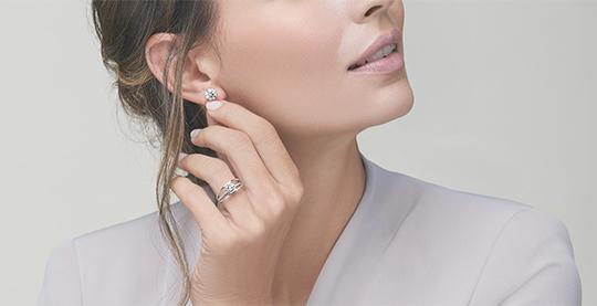 Shimansky Evolym Diamond Ring