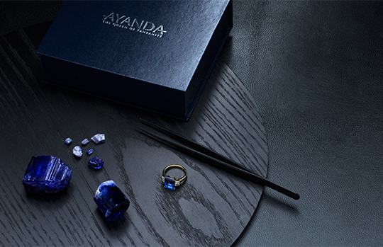 Ayanda Tanzanite Jewellery Collection