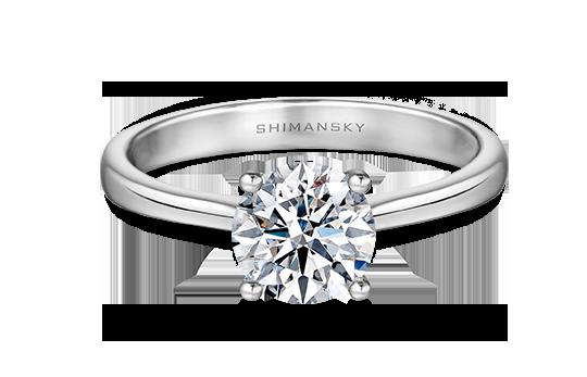 Shimansky I Do Engagement Ring