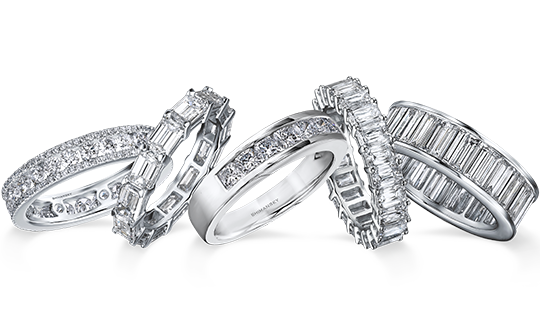 Shimansky Diamond Eternity Rings