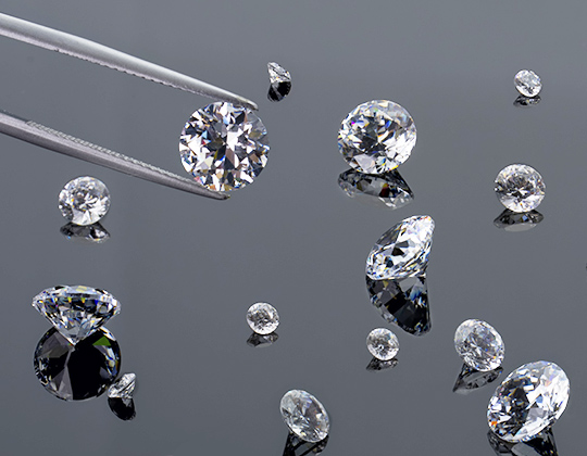 Selecting the right size diamond