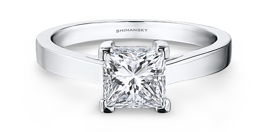 Shimansky Princess Cut Diamond Ring