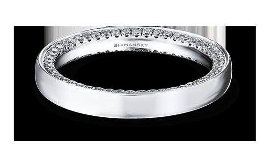 Shimansky Micro Set Diamond Wedding Band