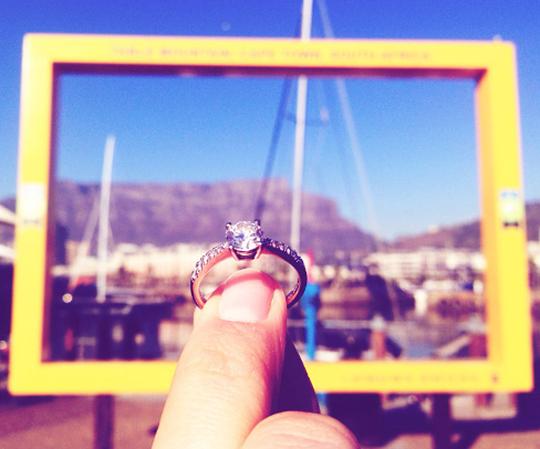 Shimansky Engagement Selfie