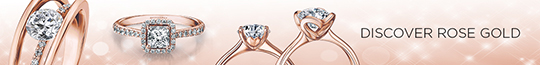 Shimansky Rose Gold Diamond Rings