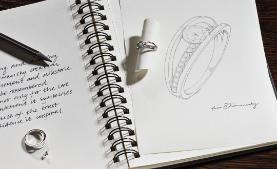 Shimansky Making of the Evolym Ring