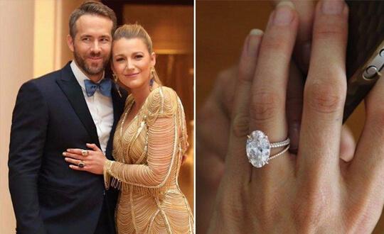 Sarah Hyland's Oval Diamond Engagement Ring   Shimansky