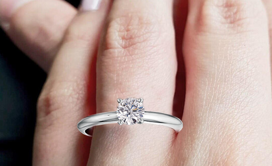 Top Single Diamond Engagement Rings | Shimansky