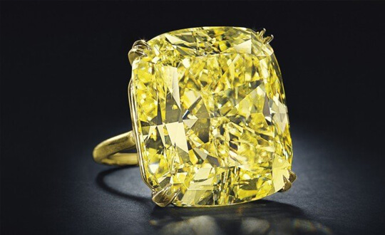 12 Most Famous Yellow Diamonds | Shimansky