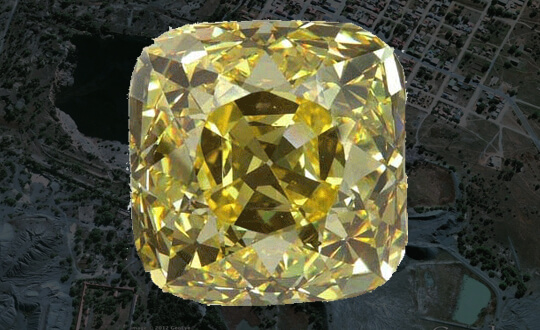 12 Most Famous Yellow Diamonds | Shimansky