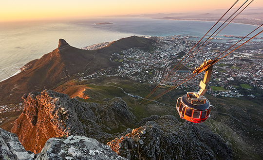 Why you should get engaged on Table Mountain