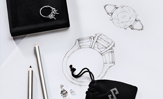 Create your own bespoke design at Shimansky Jewellers