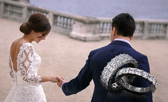 Wedding jewellery from Shimansky Jewellers