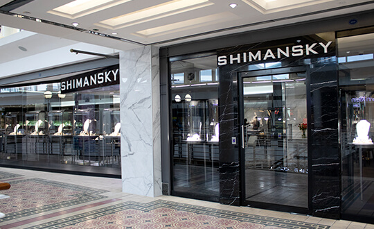 Have your ring size measured at Shimansky Jewellers