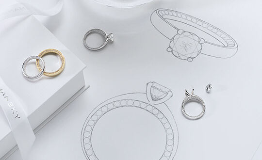 Signature jewellery designs by Shimansky