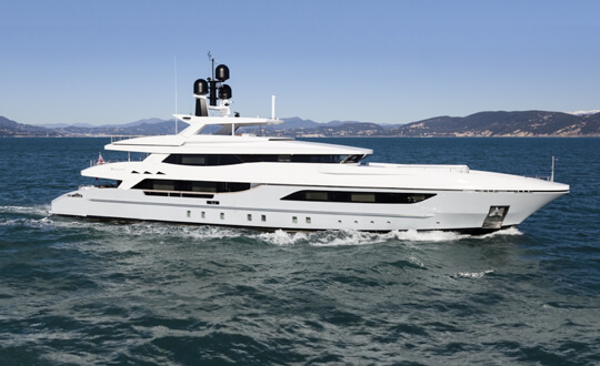 Only One luxury yacht in Cape Town