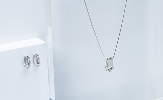 anniversary diamond necklace from Shimansky