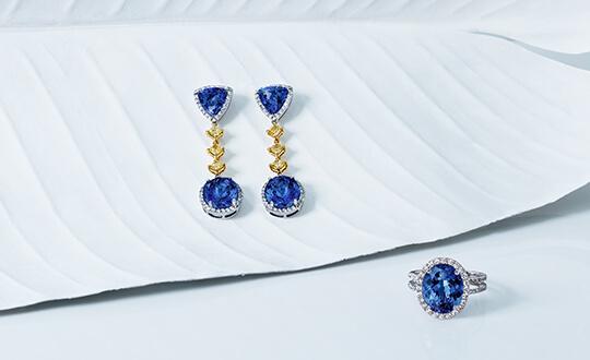 anniversary tanzanite jewellery from Shimansky