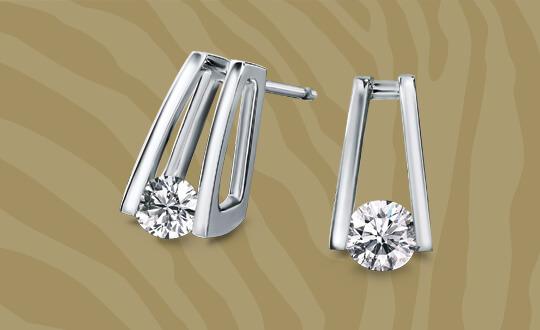 Shimansky Millennium earrings