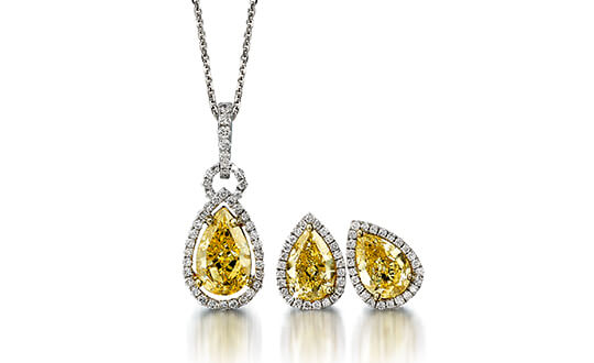 Shimansky Fancy Yellow Diamond Jewellery