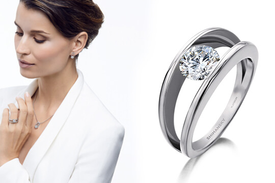 How To Wear Your Engagement Ring Shimansky