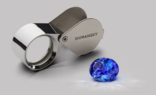 Shimansky Top Quality Certified Tanzanite