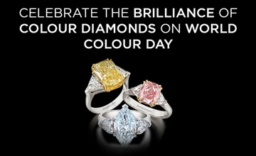 Celebrate the Brilliance of Colour Diamonds on International Colour Day