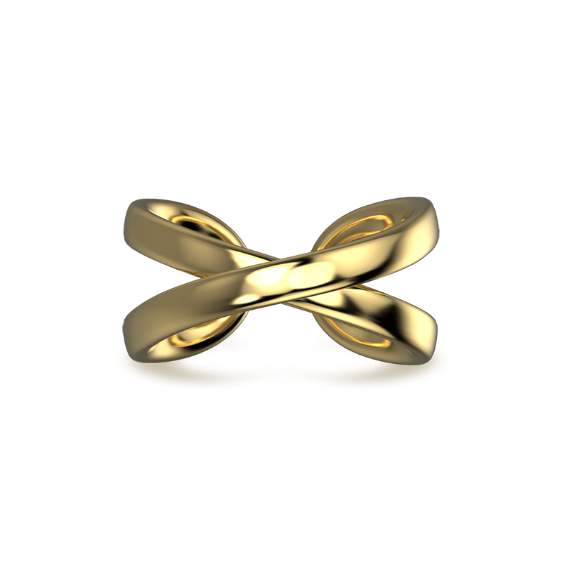 Infinity Classic Ring 18K Yellow Gold | Shimansky
