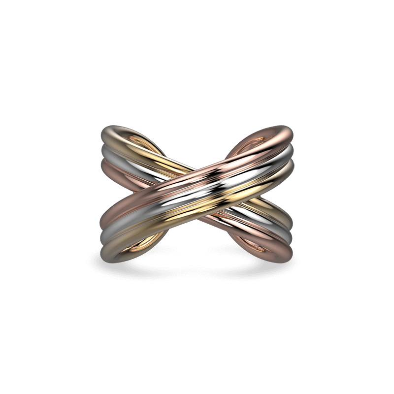 Infinity ring 18K Gold | Shimansky