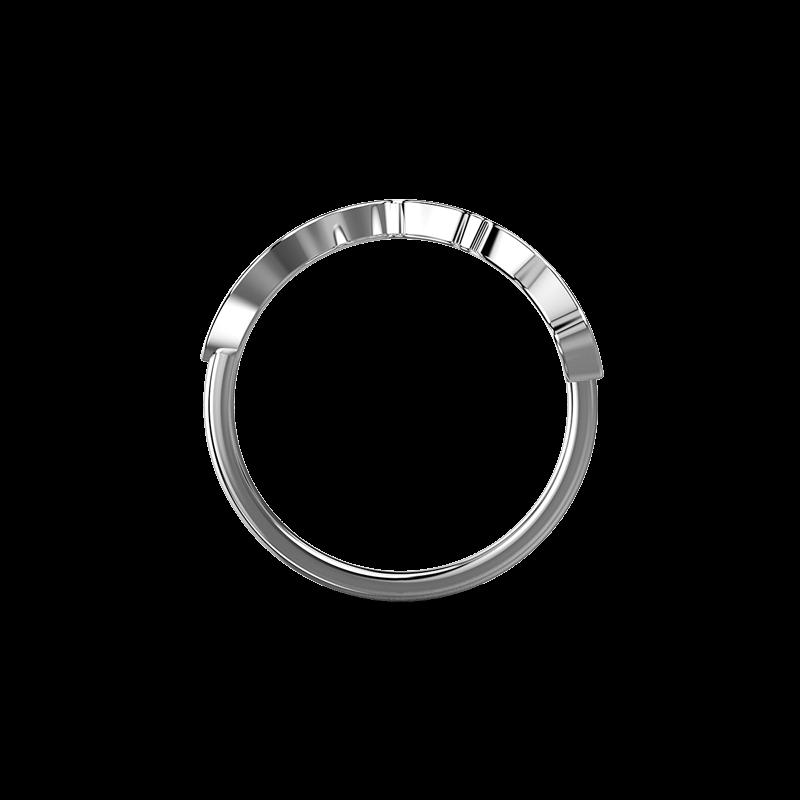 My Africa pave Ring 18K White Gold | Shimansky