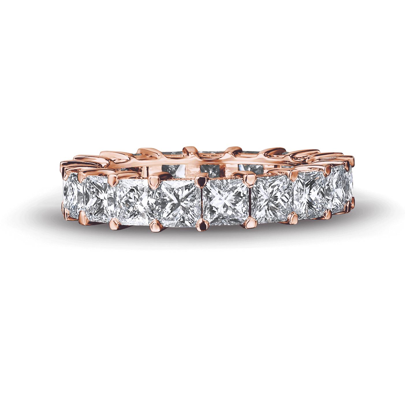My Girl Full Eternity Ring 18K Rose Gold | Shimansky