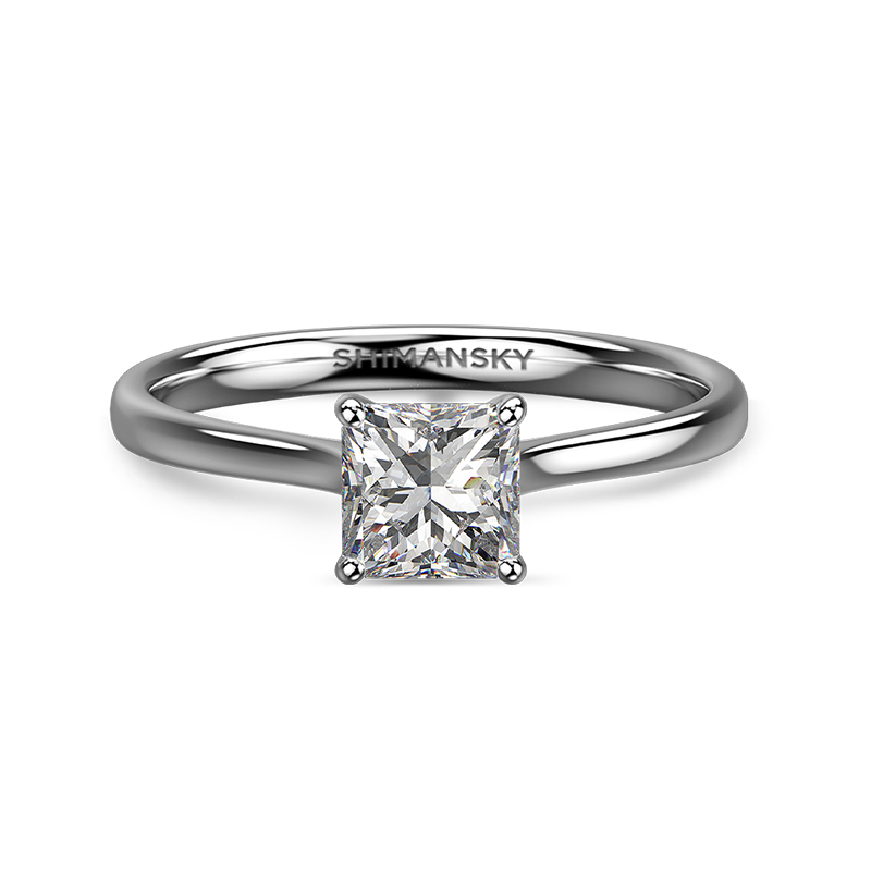 My Girl Solitaire Ring | Shimansky