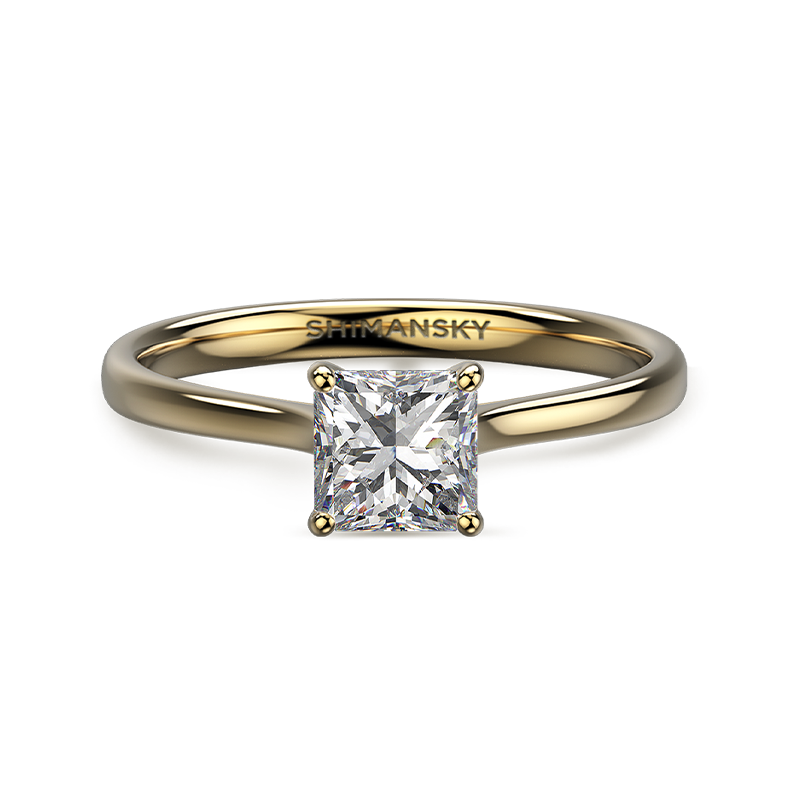 My Girl Solitaire 18K Yellow Gold | Shimansky