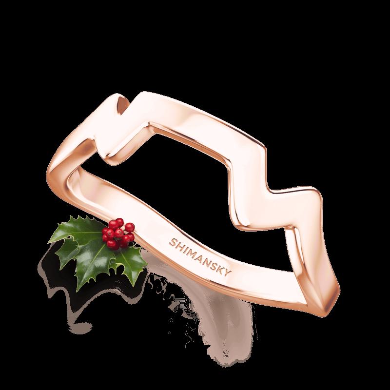 Table Mountain Ring 14K Rose Gold | Shimansky