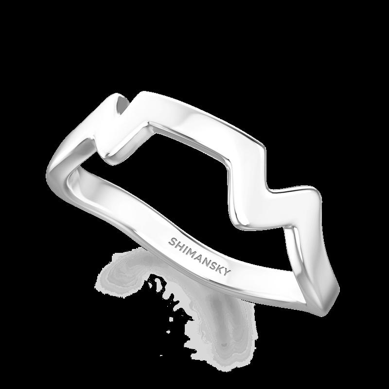 Table Mountain Ring 14K White Gold | Shimansky