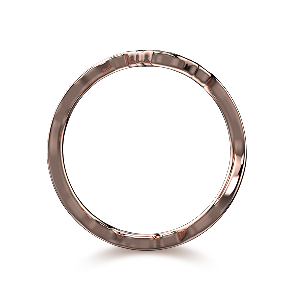 Tip of Africa Pave 18K Rose Gold | Shimansky