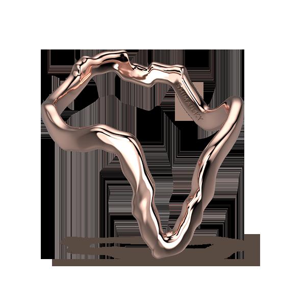 Tip of Africa Pave 18K Rose Gold | Shimansky