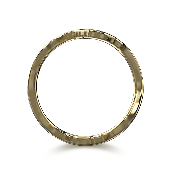 Tip of Africa Pave 18K Yellow Gold   Shimansky