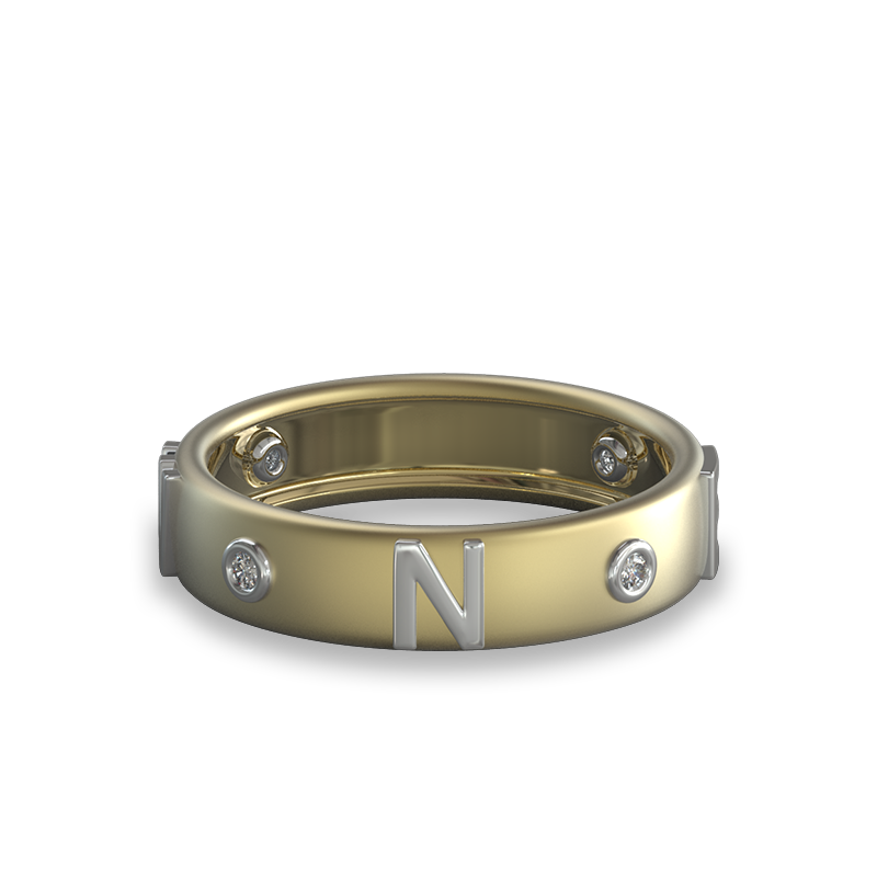 True North Diamond Ring| Shimansky