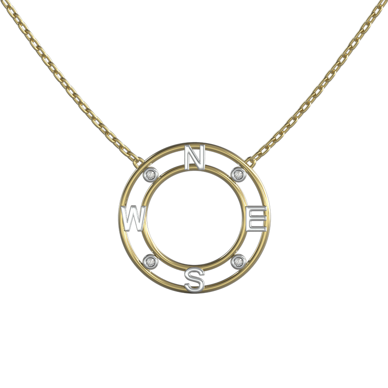 True North Diamond Pendant | Shimansky