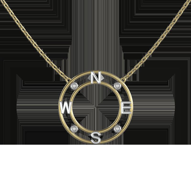True North Diamond Pendant | Shimansky