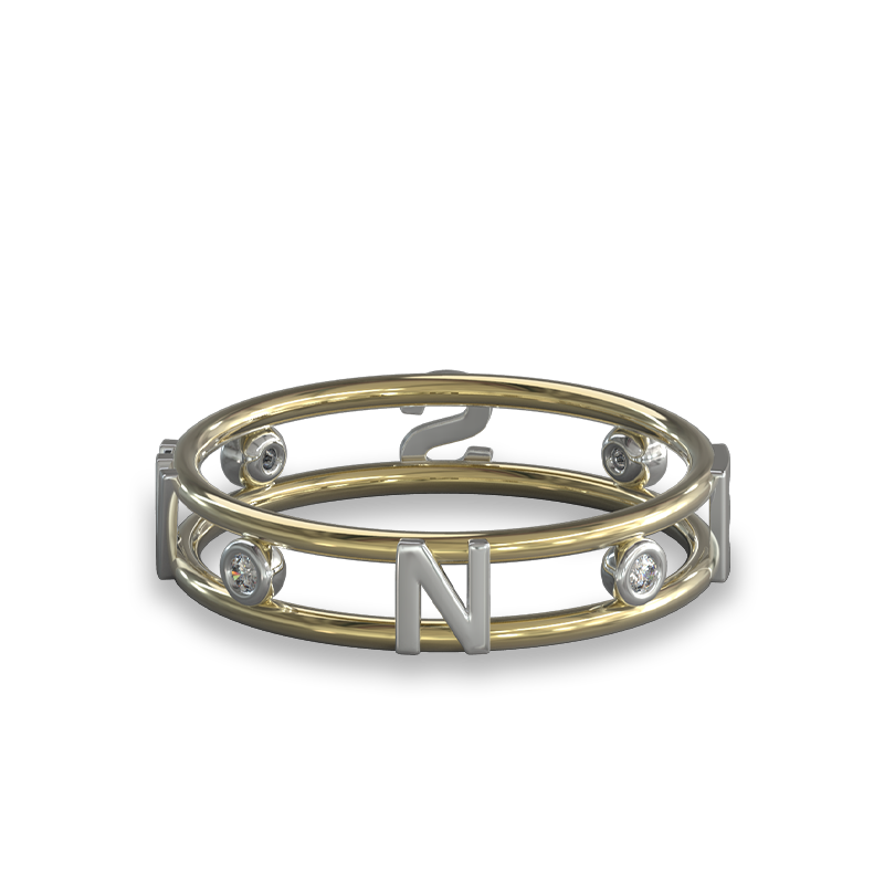 True North Diamond Ring| Shimansky