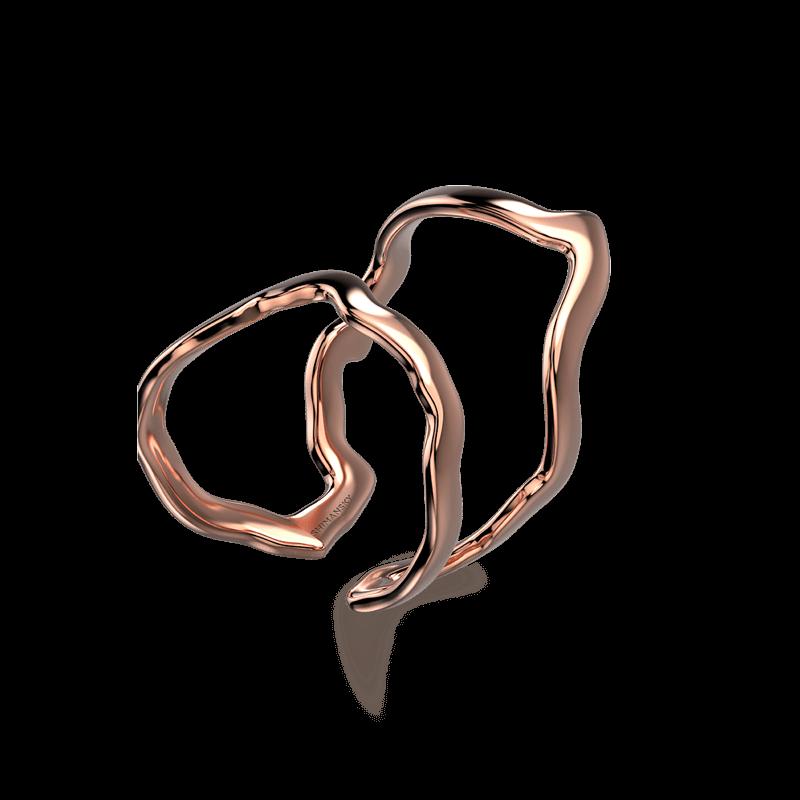 Wrap Africa Ring 18K Rose Gold | Shimansky