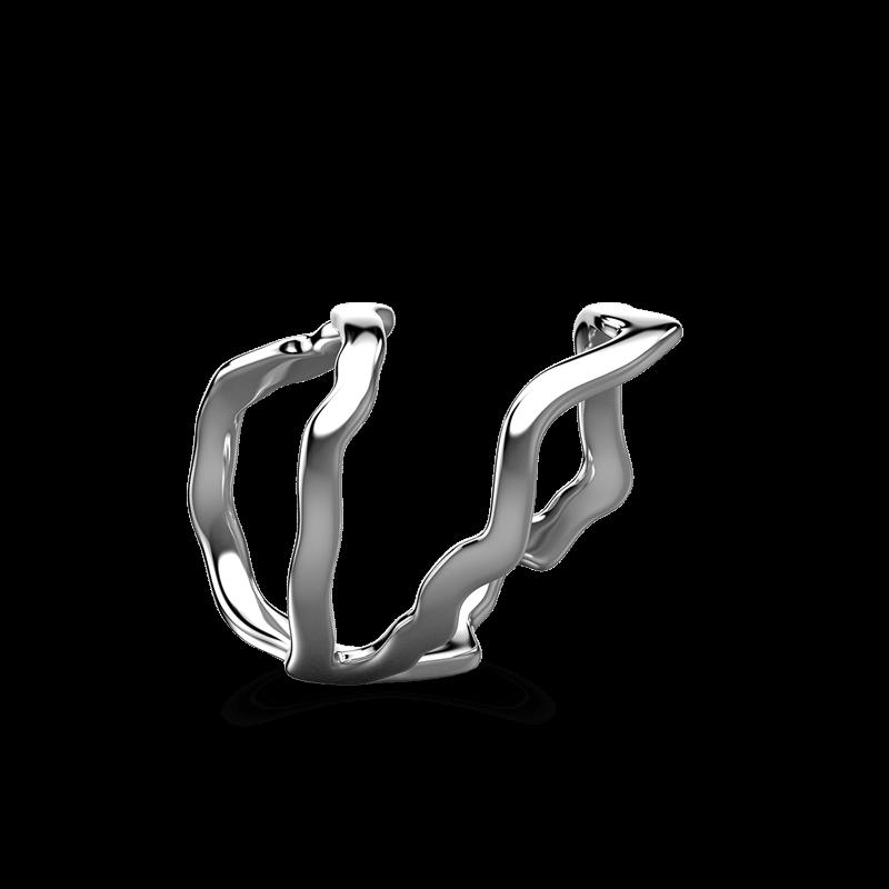 Wrap Africa Ring 18K White Gold | Shimansky