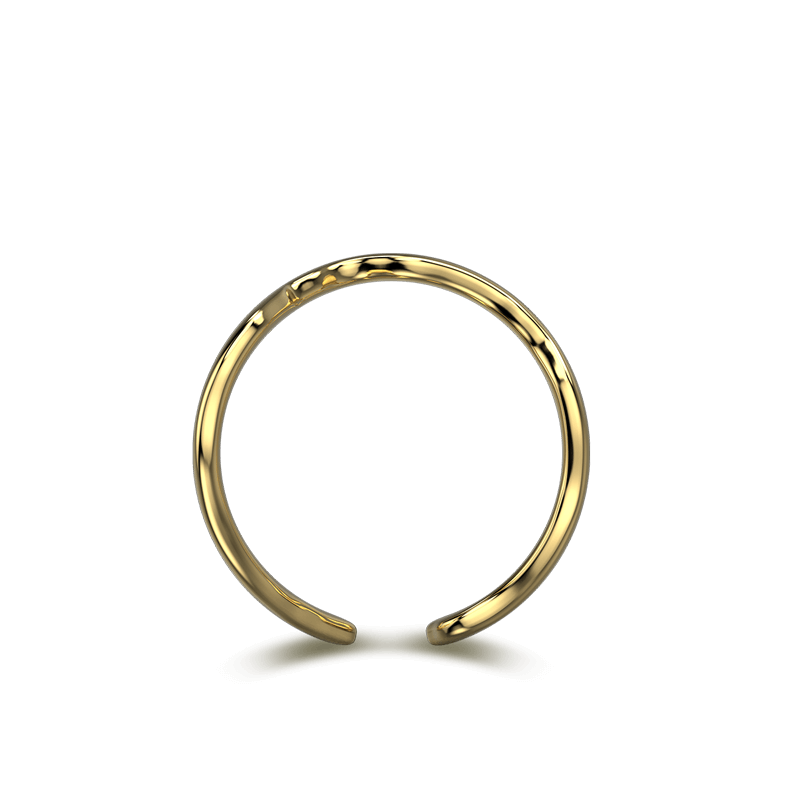 Wrap Africa Ring 18K Yellow Gold | Shimansky
