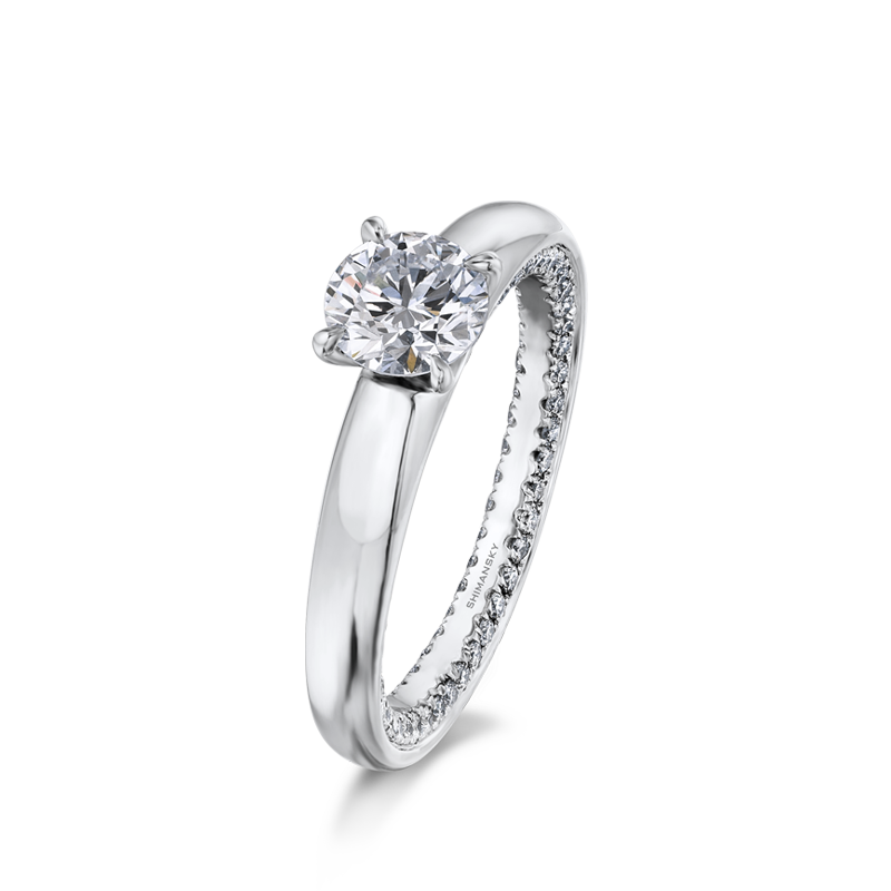 Shimansky Circle of Love Engagement Ring
