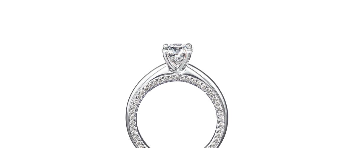 Circle Of Love Diamond Ring Shimansky