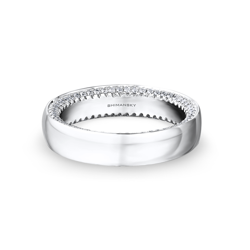 Shimansky Circle of Love Mens Wedding Ring